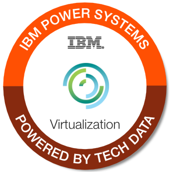 Tech Data - Power Systems - Virtualization badge