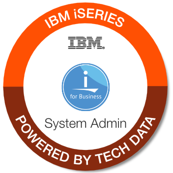 Tech Data - iSeries System Admin badge