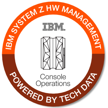 Tech Data - IBM System Z Hardware Management Console Management badge