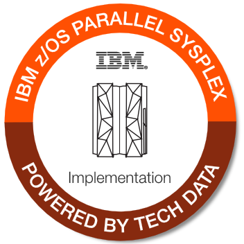 Tech Data - IBM z/OS Parallel Sysplex Implementation badge