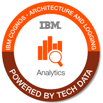 Tech Data - Cognos Architecture and Logging Badge