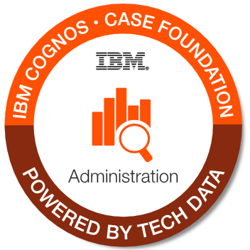 Tech Data - IBM Case Foundation Administration badge