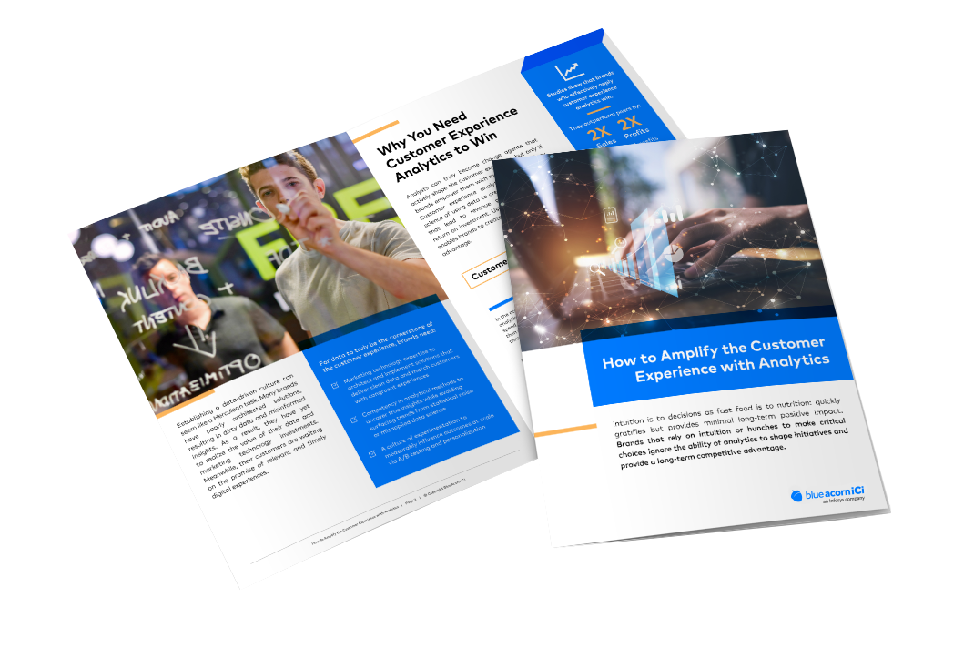 Amplify Customer Experience with Analytics Whitepaper