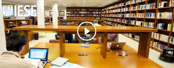 IESE Library Madrid