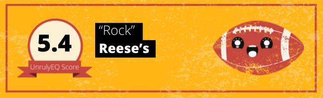 Reese's - 'Rock' - 5.4 EQ Score