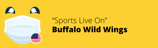 Buffalo Wild Wings - Sports Live On