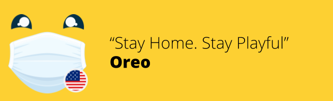 Oreo - Stay Home. Stay Playful