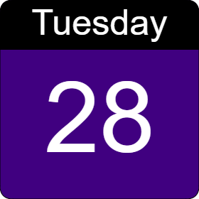 tuesday 28