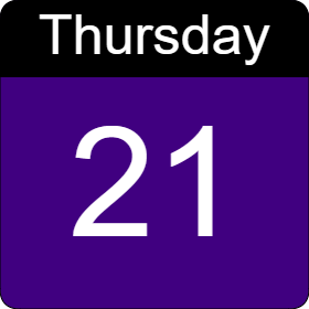 thursday 14