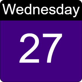 tuesday 12