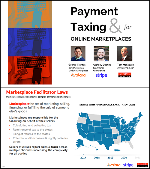 Payment & Taxing for Online Marketplaces
