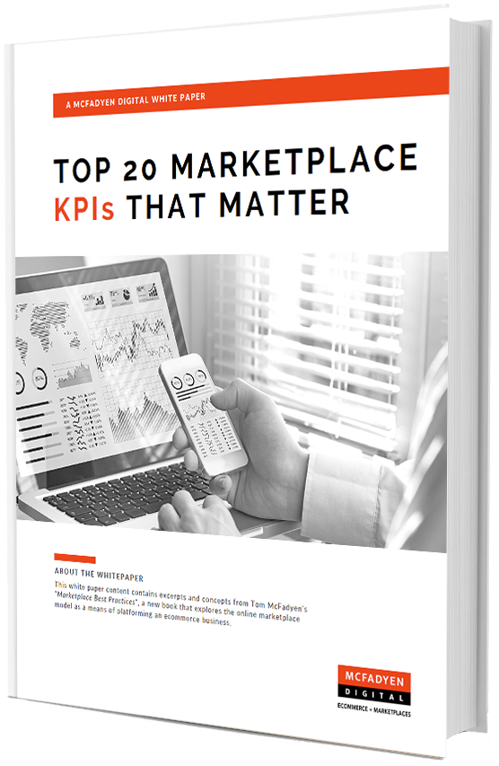 Top 20 Marketplace KPIs That Matter White Paper Cover