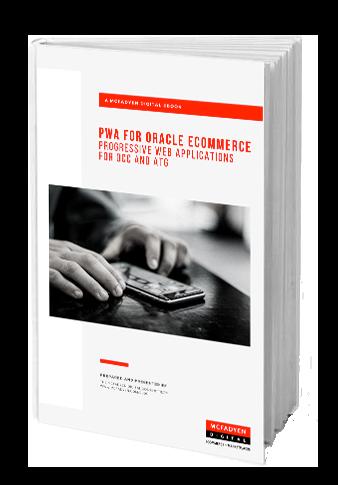 PWA for Oracle Ecomerce