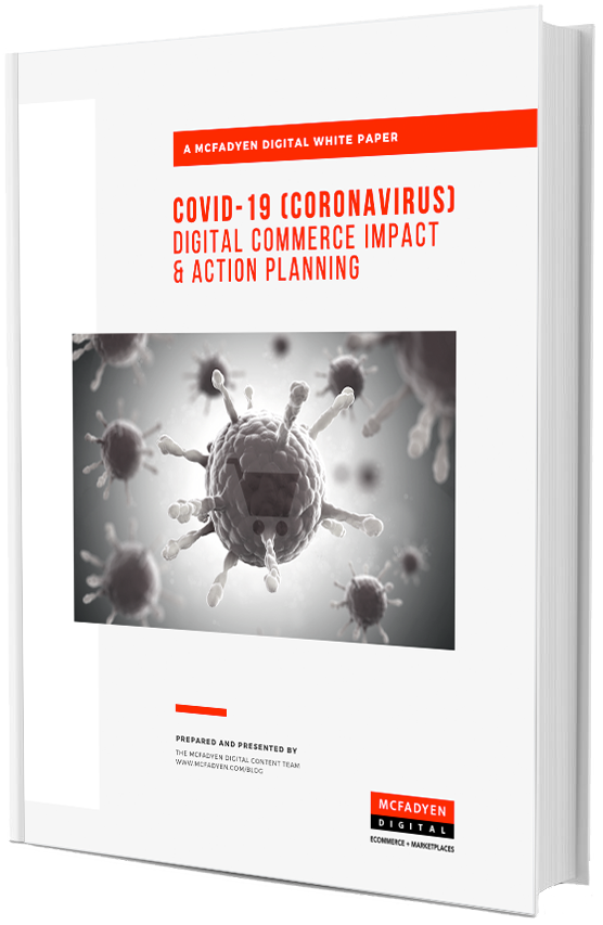 CVOID-19 Coronavirus Digital Commerce Impact & Action Planning Cover