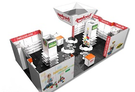 30x30 Trade Show Exhibit Rental Las Vegas