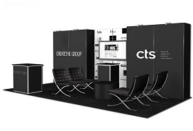 10x20 foot trade show exhibit Las Vegas
