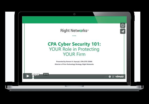 Cybersecurity 101 Webinar