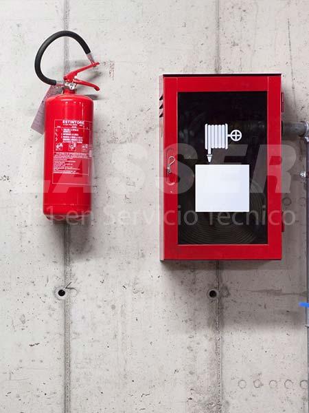 empresa extintores madrid lasser