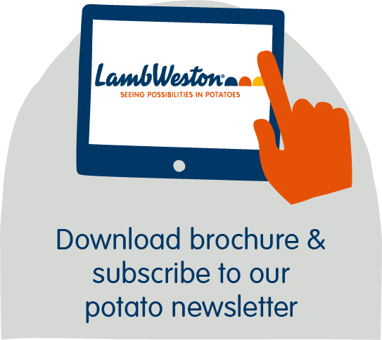 Download brochure & subscribe to our potato newsletter