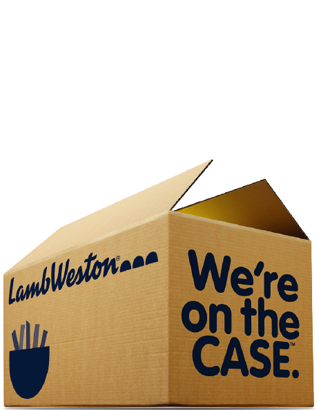 Get your free sample of our new Crispy on Delivery fries!