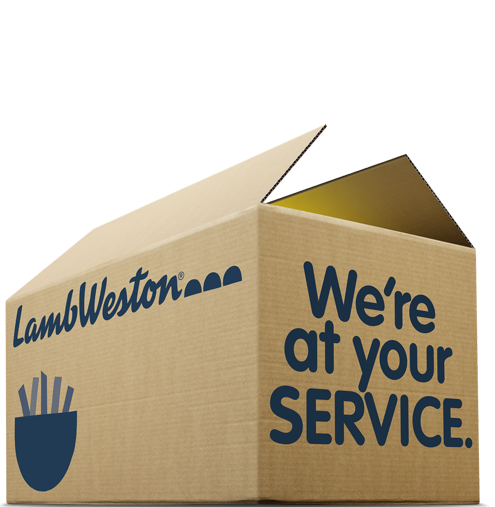 Lamb Weston® - BETTER TAKEOUT AND DELIVERY OPTIONS? -  We're at your SERVICE.