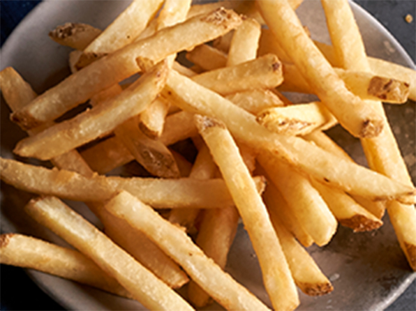 "3/8"" Regular Cut Skin-On Fries (LW201)"