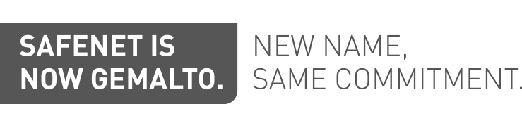 SafeNet is now Gemalto. New name. Same Commitment.
