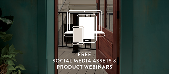 Free Social Media Assets and Product Webinars