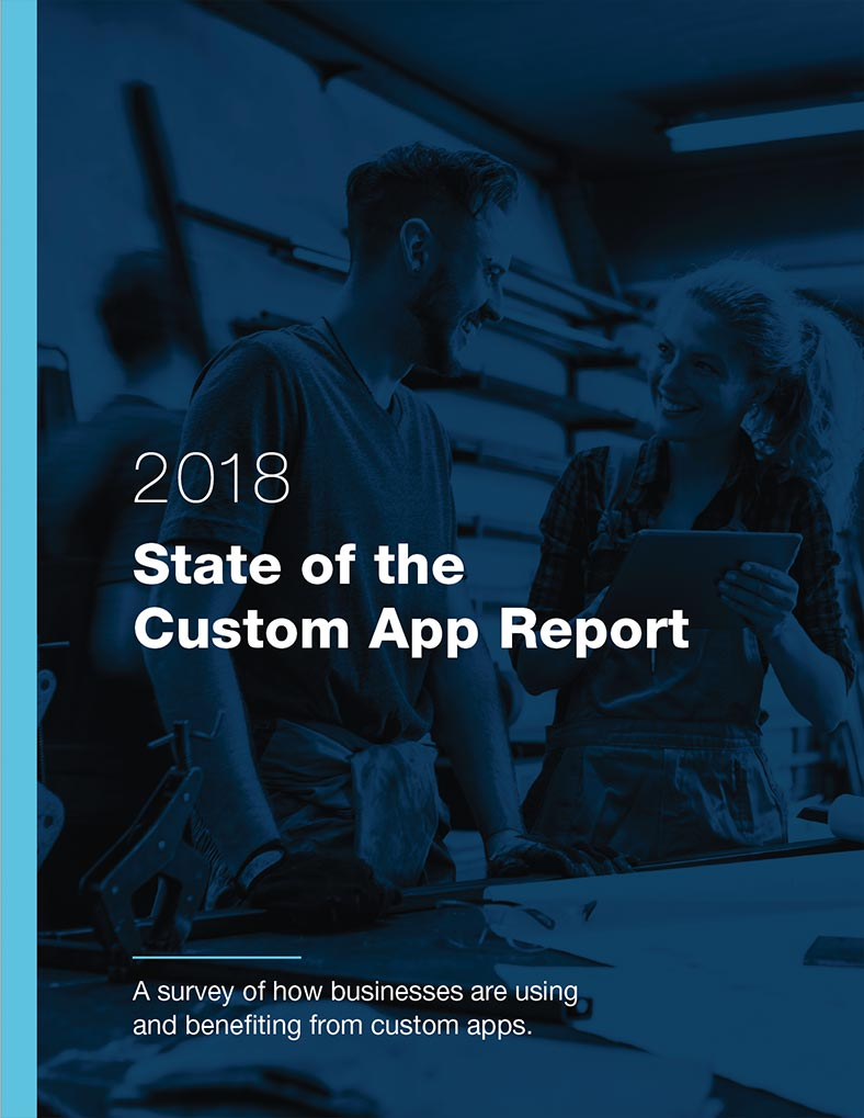 State of the Custom App Report 2018 Cover