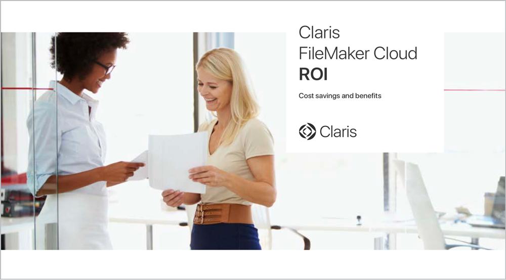 Claris Cloud ROI