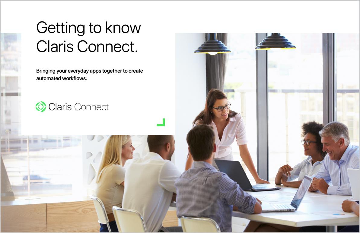 Claris Connect ebook