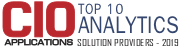 CIO Top 10 Analytics Solution Providers - 2019