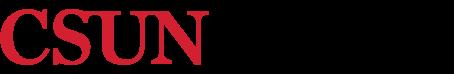 California State University, Northridge logo.