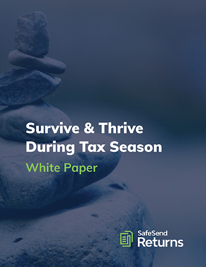 Download the Survive & Thrive During Tax Season White Paper
