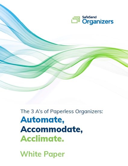 Three A's of Paperless Organizers White Paper