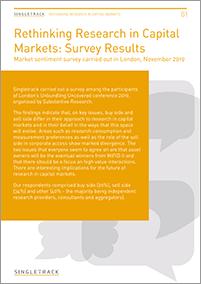 Singletrack Trends Report 2020 cover