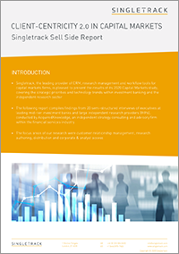 Client-centricity 2.0 Research Report