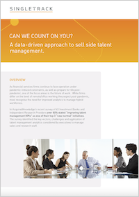 Can we count on you? A data-driven approach to sell side talent management