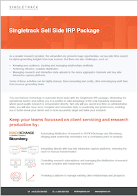 Singletrack IRP Package