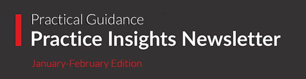 Lexis Practice Advisor Practice Insight Newsletter.