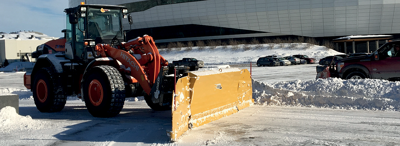 Hitachi Wheel Loaders Snow Removal