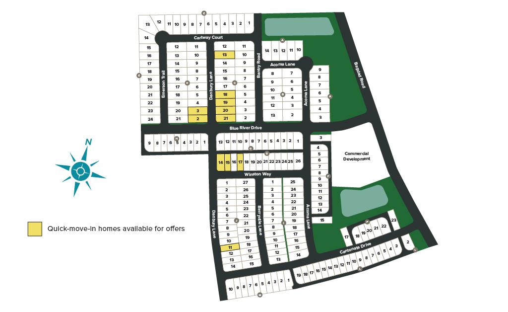 Mockingbird Park Community Map