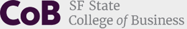 The College of Business Wordmark