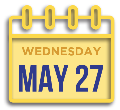 Wednesday May 27