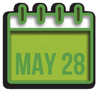 Thursday May 28