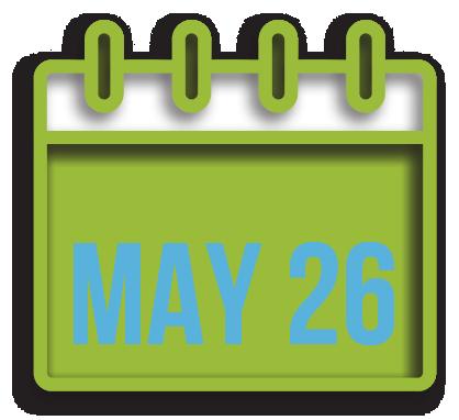 Tuesday May 26