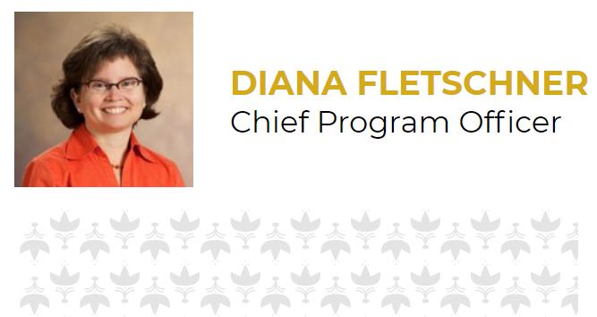 Headshot of Diana Fletschner, Chief Program Officer