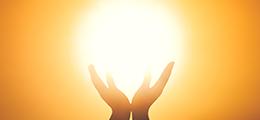 Praying hands, Eucharist