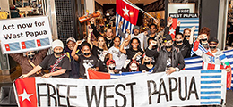 West Papua protest Melbourne