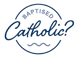 Baptised Catholic logo